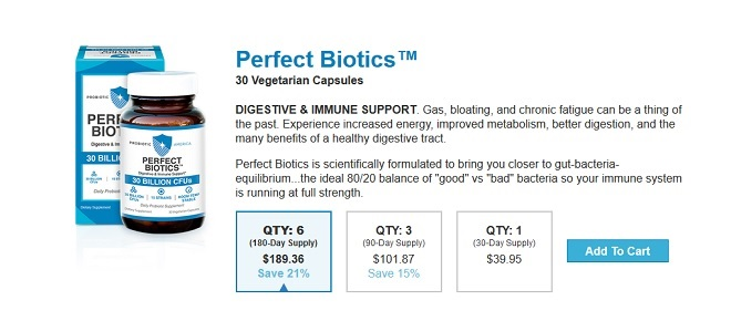 Perfect Biotics Probiotic America Reviews - Does it Work?