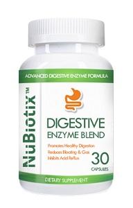 nubiotix digestive enzyme blend bottle
