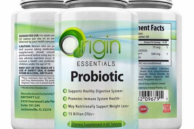 origin essential probiotic