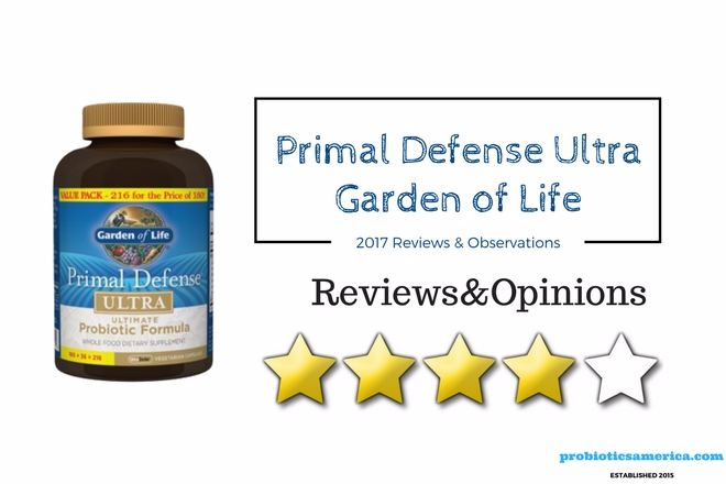 Garden Of Life Primal Defense Ultra Reviews